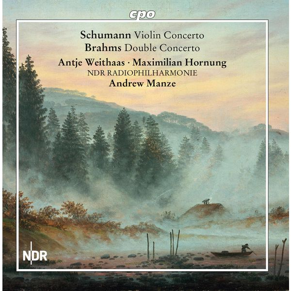 Antje Weithaas - Schumann : Violin Concerto - Brahms : Double Concerto