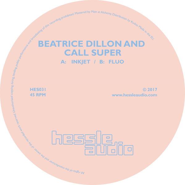 Beatrice Dillon - Inkjet / Fluo