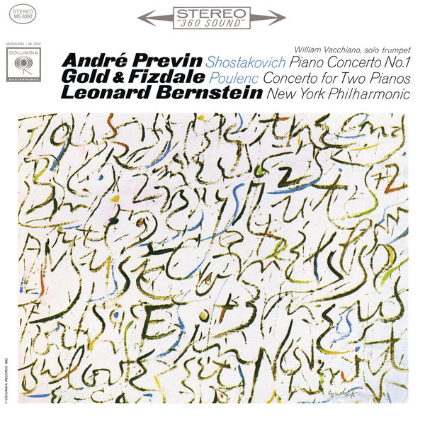 André Previn - Shostakovich: Piano Concerto No.1  Op. 35 & Poulenc: Concerto for Two Pianos and Orchestra in D Minor FP. 61 (Remastered)