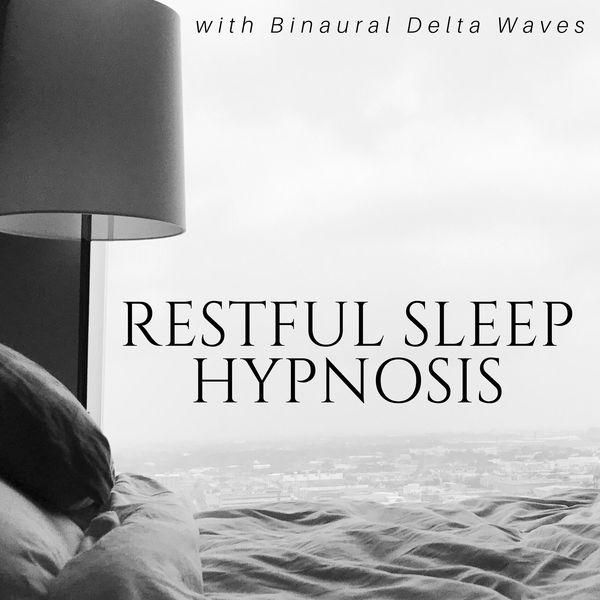 Restful Sleep Hypnosis with Binaural Delta Waves, Long