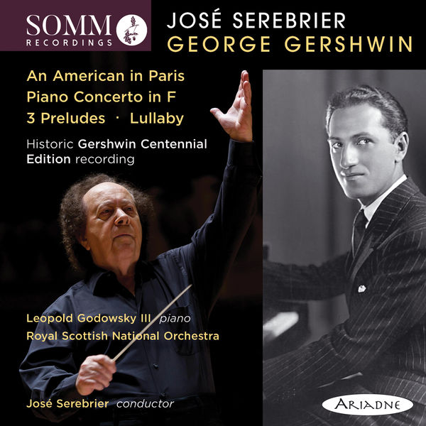 The Royal Scottish National Orchestra - Gershwin: An American in Paris, Piano Concerto in F Major, 3 Preludes & Lullaby