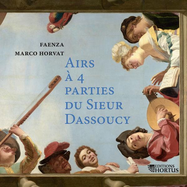 Marco Horvat - Dassoucy : Airs à 4 parties