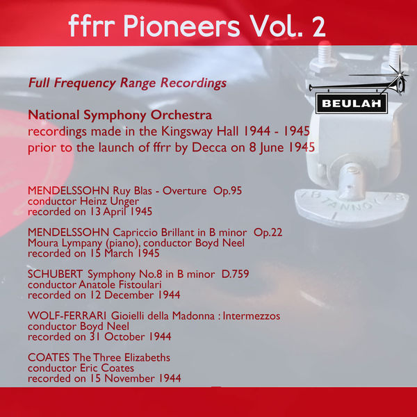 National Symphony Orchestra - Ffrr Pioneers, Vol. 2
