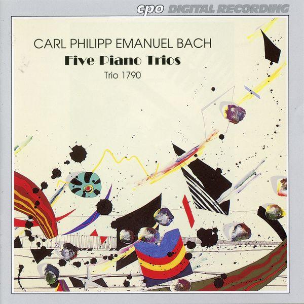 Trio 1790 C.P.E. Bach: 5 Piano Trios