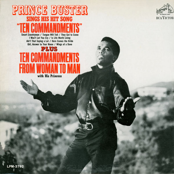 Prince Buster - Sings His Hit Song Ten Commandments
