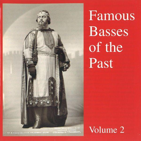 Mark Reizen - Famous Basses Of The Past Volume 2