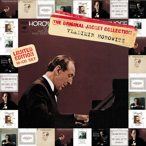 Vladimir Horowitz - Original Jackets -- Vladimir Horowitz