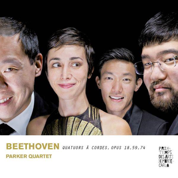Parker Quartet - Beethoven : Quatuors à cordes, Op.18, 59 & 74