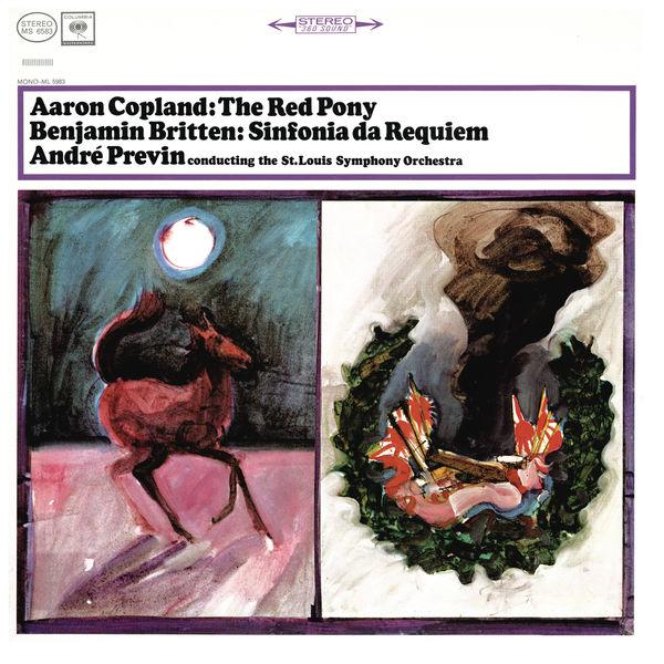 André Previn - Copland: The Red Pony & Britten: Sinfonia da Requiem, Op. 20