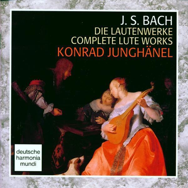 Konrad Junghänel - Bach: Die Lautenwerke / Complete Lute Works