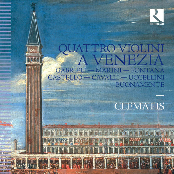 Brice Sailly - Quattro violoni a Venezia
