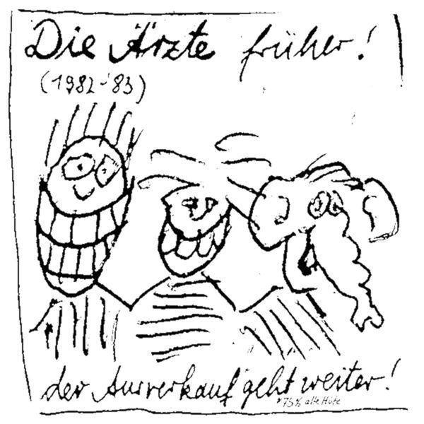 die ärzte - Die Ärzte früher! (1982-83)