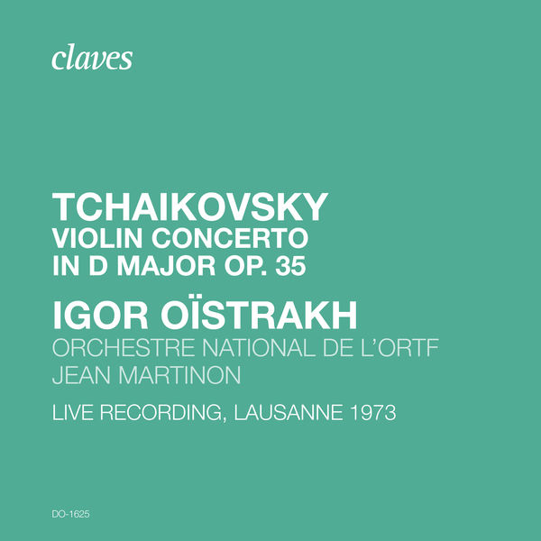 Igor Oistrakh - Tchaikovsky: Violin Concerto in D Major, Op. 35, TH 59 (Live Recording, Lausanne 1973)