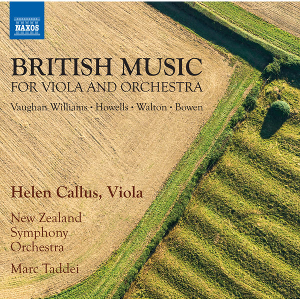 Helen Callus - British Music for Viola Concertos