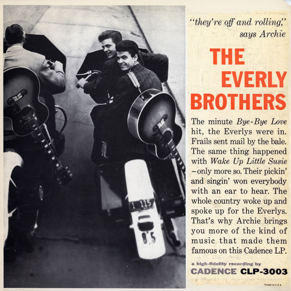 The Everly Brothers - They're Off and Rolling, Says Archie