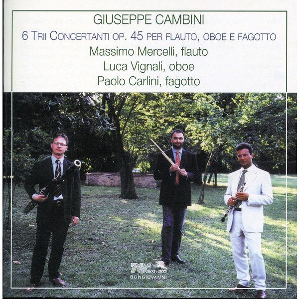 Massimo Mercelli - Cambini: 6 Trii Concertanti Op. 45 per flauto, oboe e fagotto