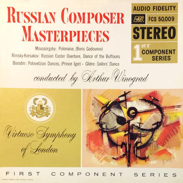 Arthur Winograd - Russian Composer Masterpieces