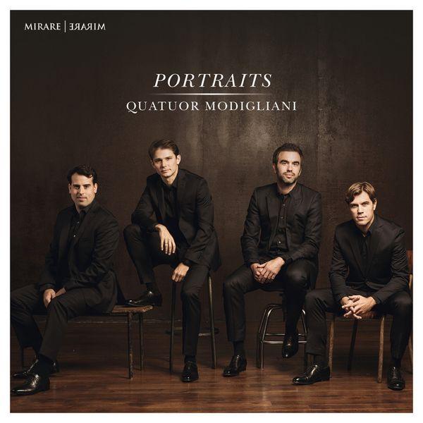 Quatuor Modigliani|Portraits (Mendelssohn, Puccini, Korngold, Kreisler...)