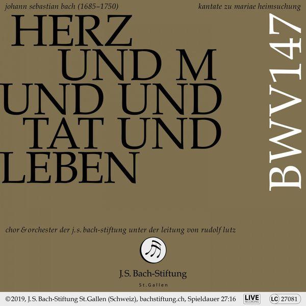 Rudolf Lutz - Bachkantate, BWV 147 - Herz und Mund und Tat und Leben (Live)