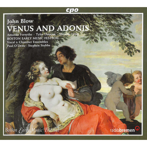 Boston Early Music Festival Chamber Ensemble - Blow: Venus & Adonis (Live)