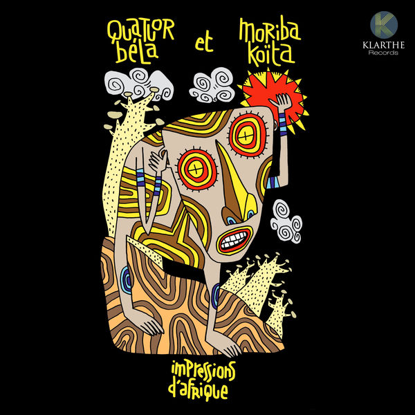 Quatuor Béla - Impressions d'Afrique (Koïta, Volans, Aurier)