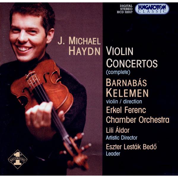 Barnabás Kelemen - Violin Concertos
