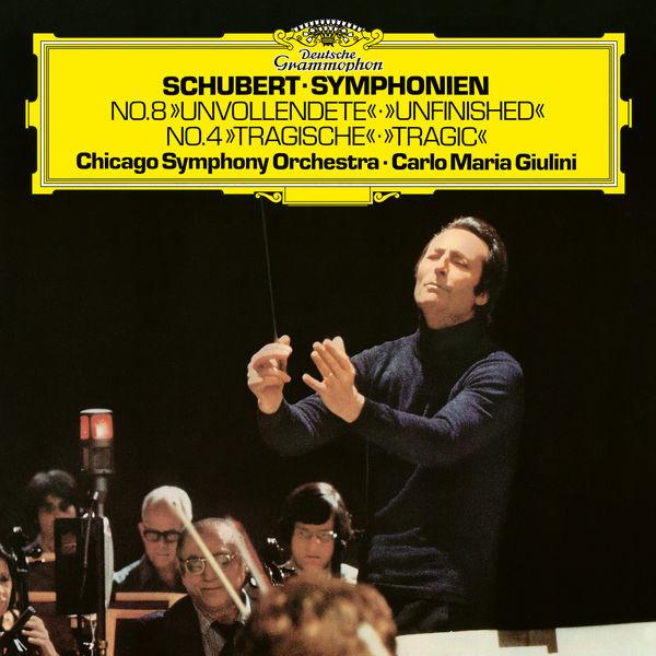 Carlo Maria Giulini - Schubert: Symphony No.4 in C minor, D.417 / Symphony No.8 in B minor, D.759
