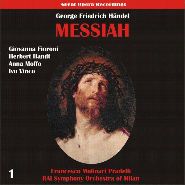 Orchestra Sinfonica di Milano della Rai - Handel: Messiah (1959), Vol. 1