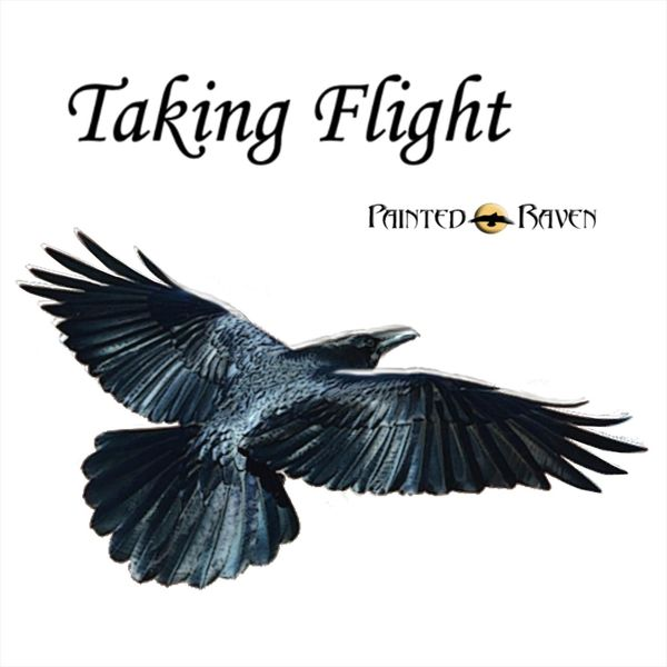 Painted Raven - Taking Flight