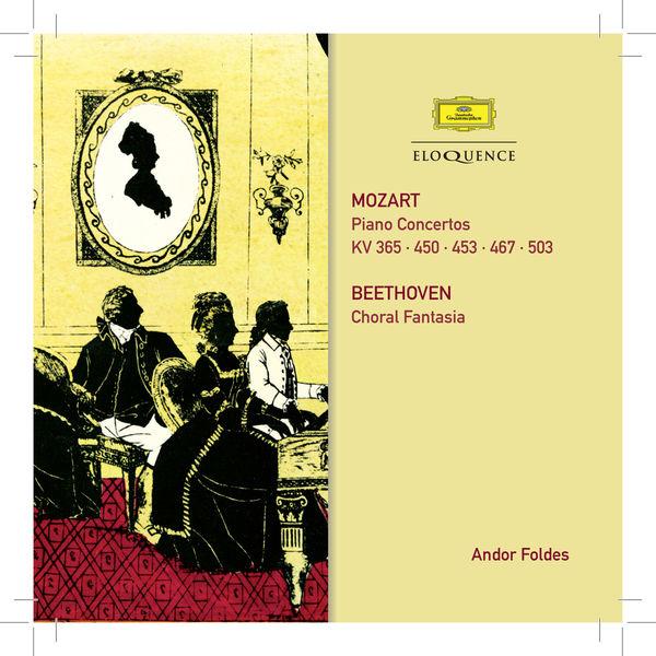 Andor Foldes - Mozart: Piano Concertos. Beethoven: Choral Fantasy