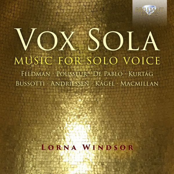 Lorna Windsor - Vox Sola: Music for Solo Voice
