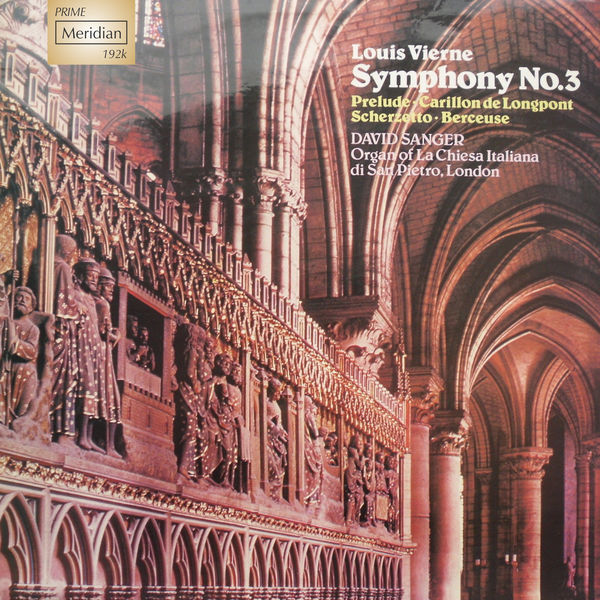 David Sanger - Symphony No. 3, 24 Pieces en style libre (1914)