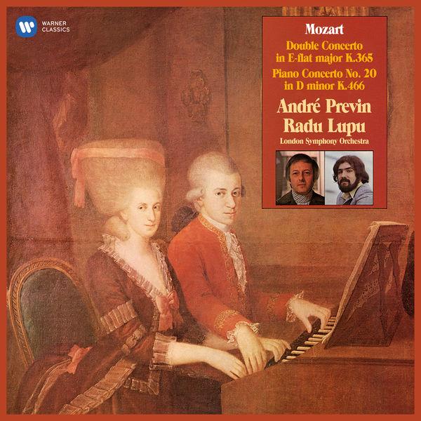 André Previn - Mozart: Concerto for Two Pianos, K. 365 & Piano Concerto No. 20, K. 466