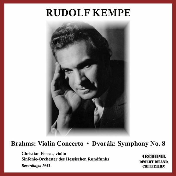 Christian Ferras - Brahms: Violin Concerto in D Major, Op. 77 - Dvořák: Symphony No. 8 in G Major, Op. 88, B. 163