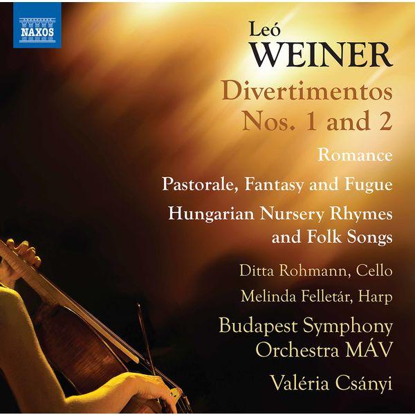 Ditta Rohmann - Weiner: Complete Orchestral Works, Vol. 3