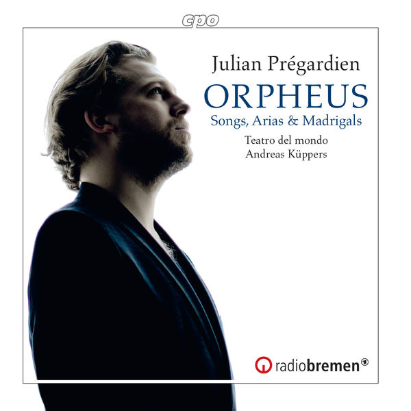 Julian Prégardien - Orpheus: Songs, Arias & Madrigals from the 17th Century