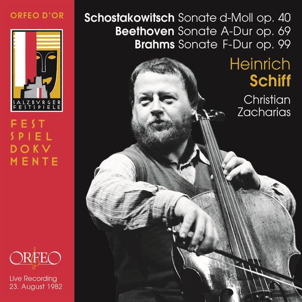 Heinrich Schiff - Beethoven, Brahms & Shostakovich: Cello Sonatas (Live)
