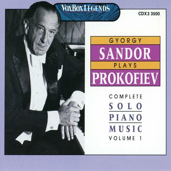 Gyorgy Sandor - Prokofiev: The Complete Piano Sonatas, 4 Pieces & 4 Études