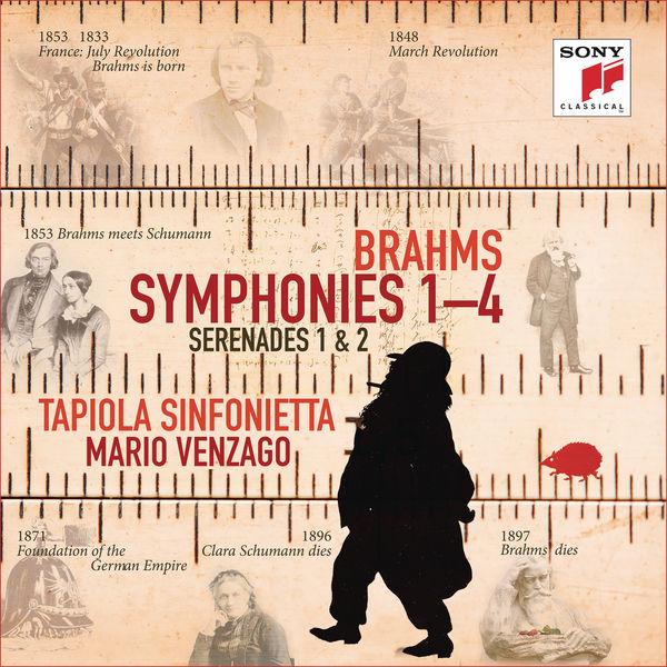Tapiola Sinfonietta - Brahms: Symphonies Nos. 1-4, Serenades Nos. 1 & 2