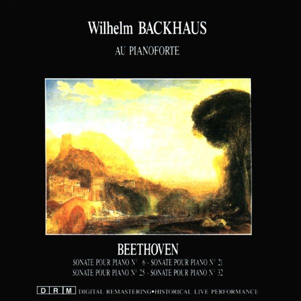 Wilhelm Backhaus - Ludwig van Beethoven: Sonaten
