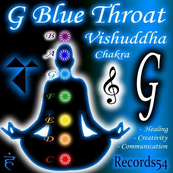G - Blue Throat Vishuddha Chakra: Healing, Creativity