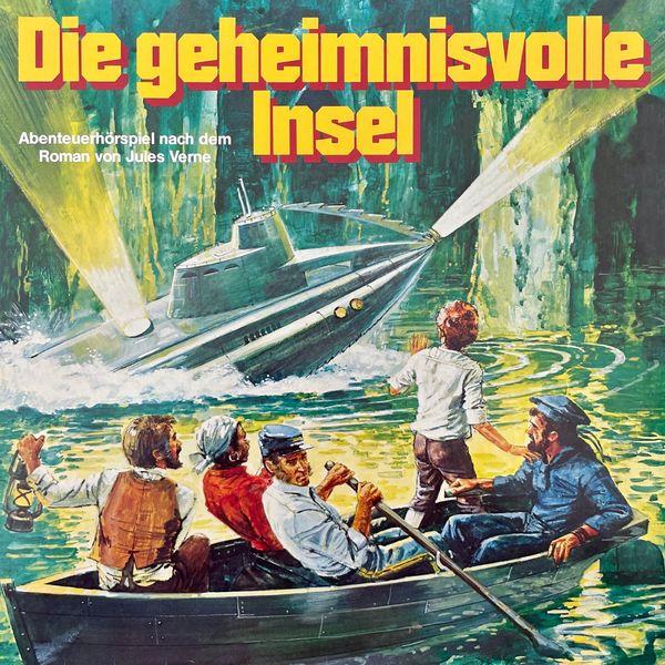 Jules Verne, Hans Paulisch - Die geheimnisvolle Insel (Hörspiel)