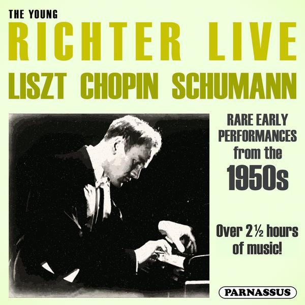 Sviatoslav Richter - The Young Richter Live - Liszt, Chopin, Schumann