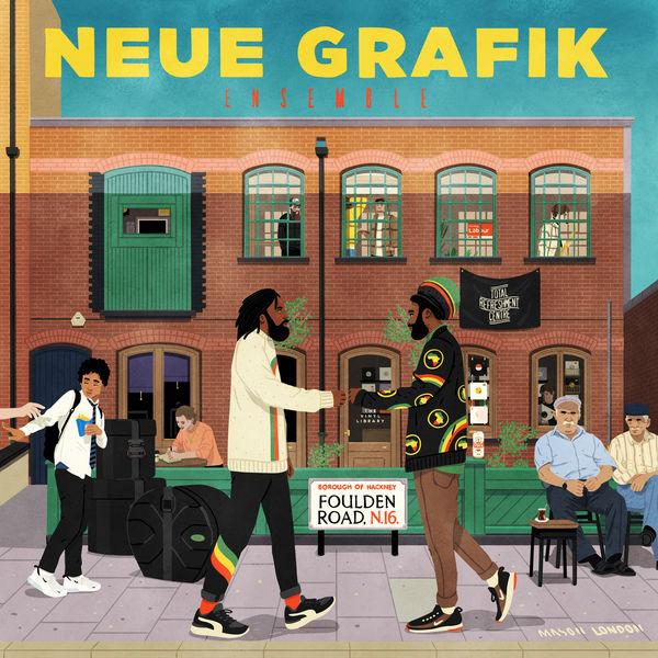 Neue Grafik Ensemble - Foulden Road EP