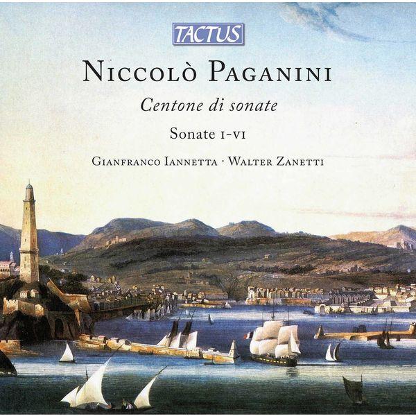 Gianfranco Iannetta - Paganini: Centone di sonate, Op. 64, MS 112 A