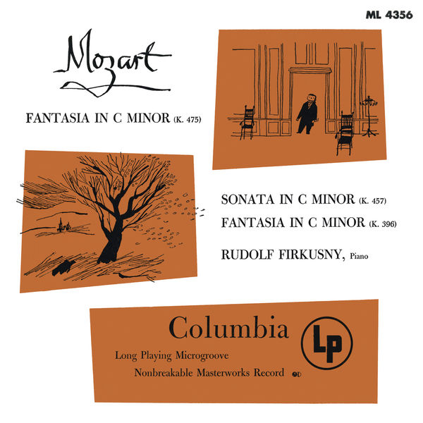 Rudolf Firkusny - Mozart: Fantasia in C Minor, K. 475, Piano Sonata No. 14 in C Minor, K. 457 & Fantasia in C Minor, K. 396 - Chopin: Piano Sonata No. 3 in B Minor, Op. 58 (Remastered)