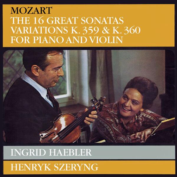 Henryk Szeryng - Mozart: Violin Sonatas
