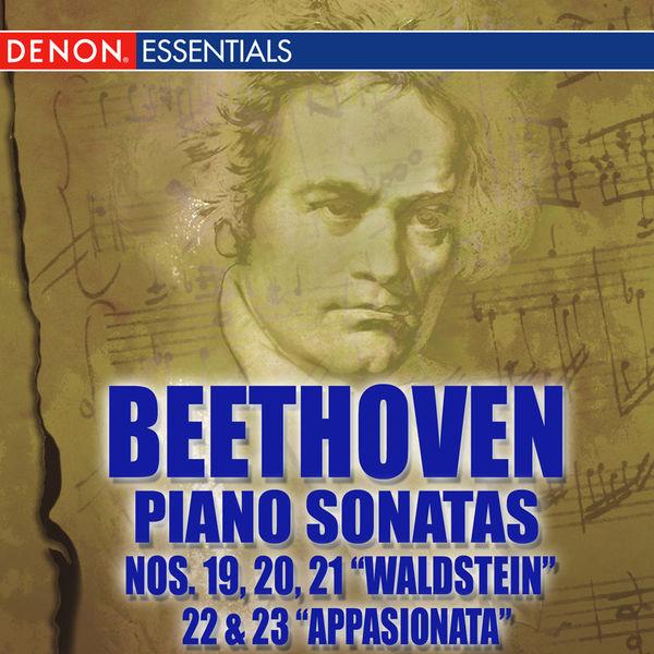 "Various Artists - Beethoven Piano Sonatas Nos. 19, 20, 21  ""Waldstein"", 22 & 23 ""Appassionata"""