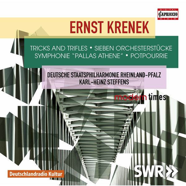 Staatsphilharmonie Rheinland-Pfalz - Krenek: Orchestral Works