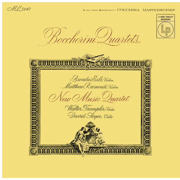 New Music String Quartet - Boccherini: String Quartets (Remastered)